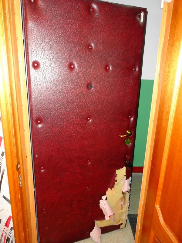 наружная стальная дверь и дверь пвх