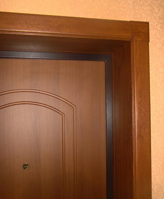 отделка входных дверей изнутри пвх